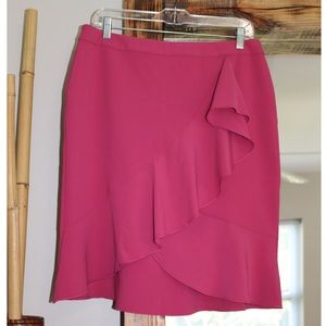 NWOT Ann Taylor Pink Skirt